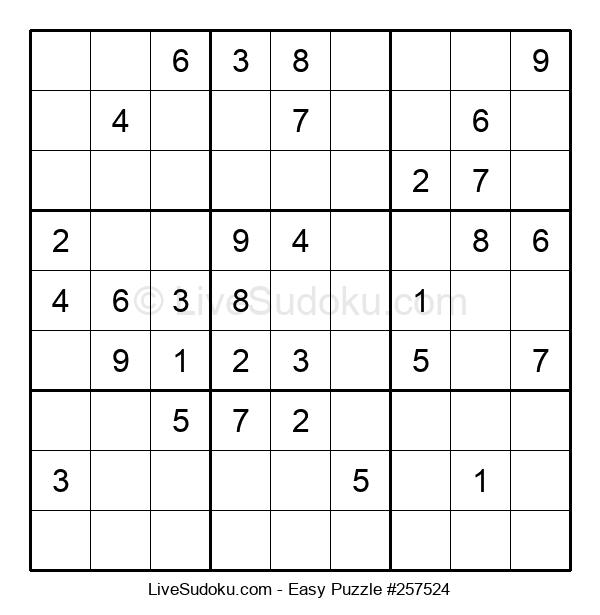 Beginners Puzzle #257524
