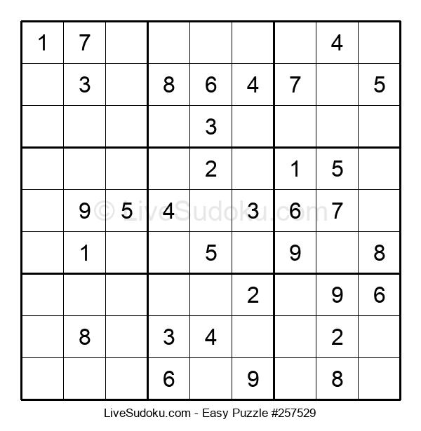 Beginners Puzzle #257529