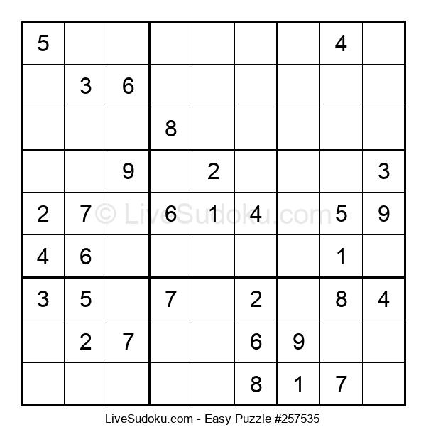 Beginners Puzzle #257535