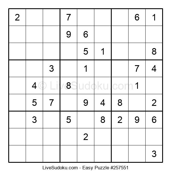 Beginners Puzzle #257551