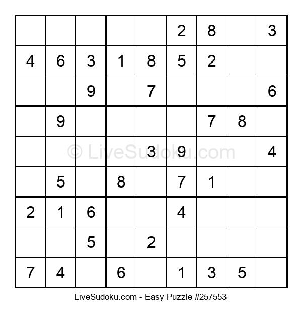 Beginners Puzzle #257553
