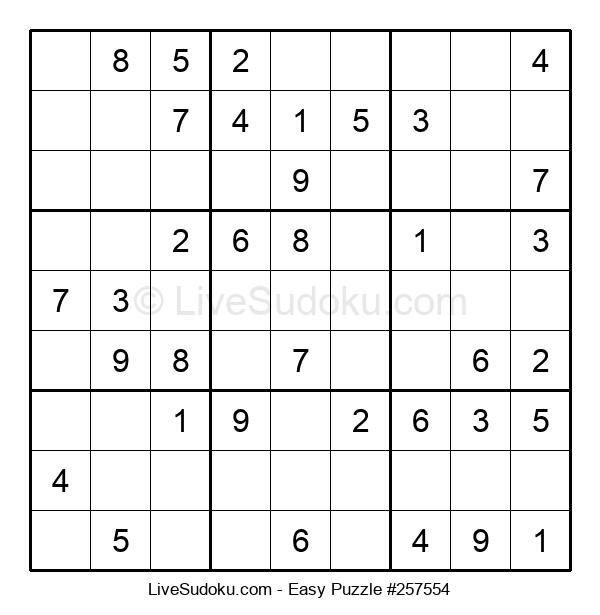 Beginners Puzzle #257554