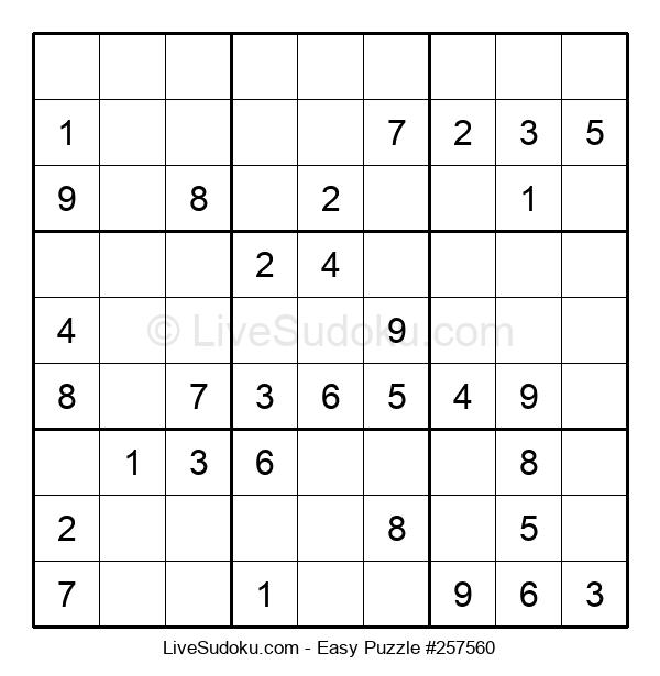 Beginners Puzzle #257560