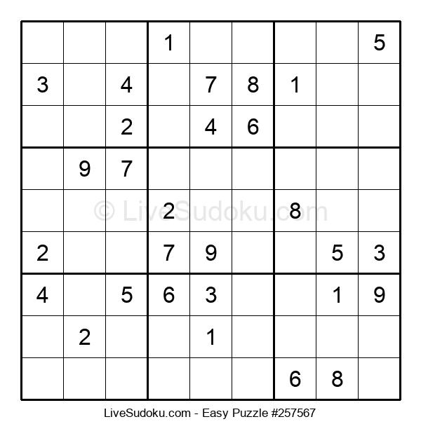 Beginners Puzzle #257567