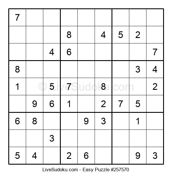 Beginners Puzzle #257570