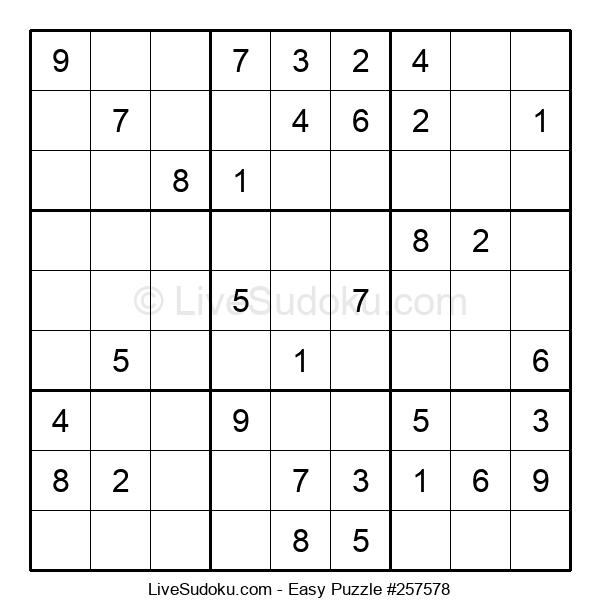 Beginners Puzzle #257578