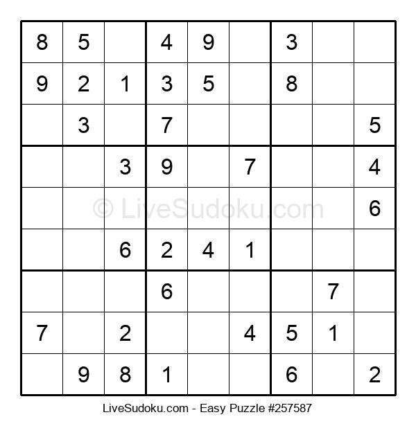 Beginners Puzzle #257587