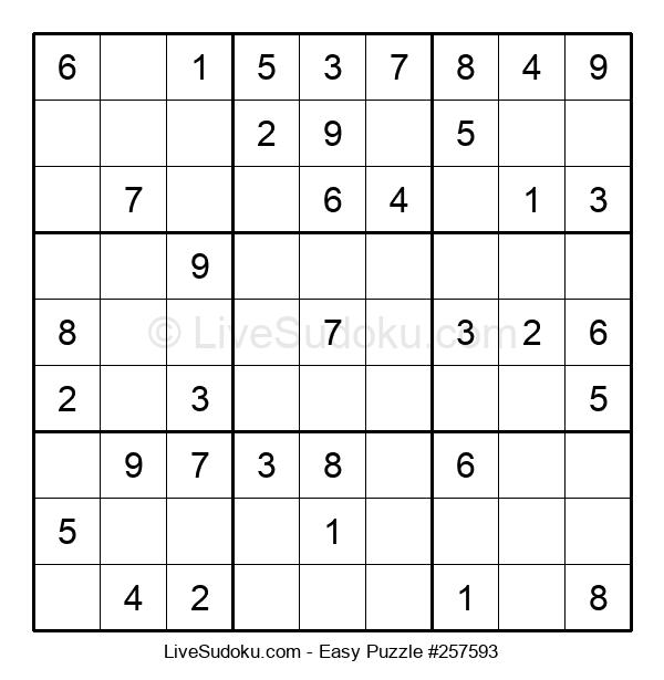 Beginners Puzzle #257593