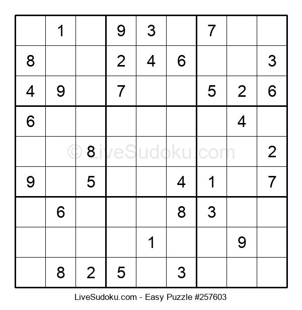 Beginners Puzzle #257603