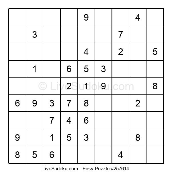 Beginners Puzzle #257614