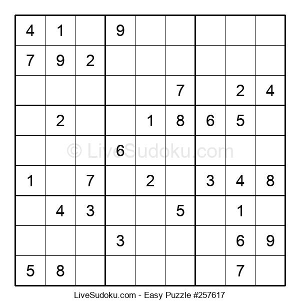 Beginners Puzzle #257617