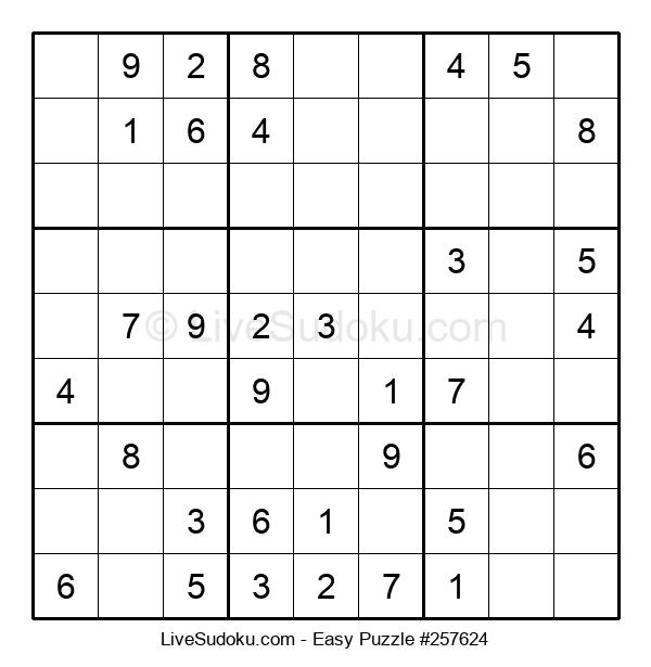 Beginners Puzzle #257624