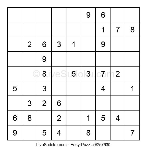 Beginners Puzzle #257630