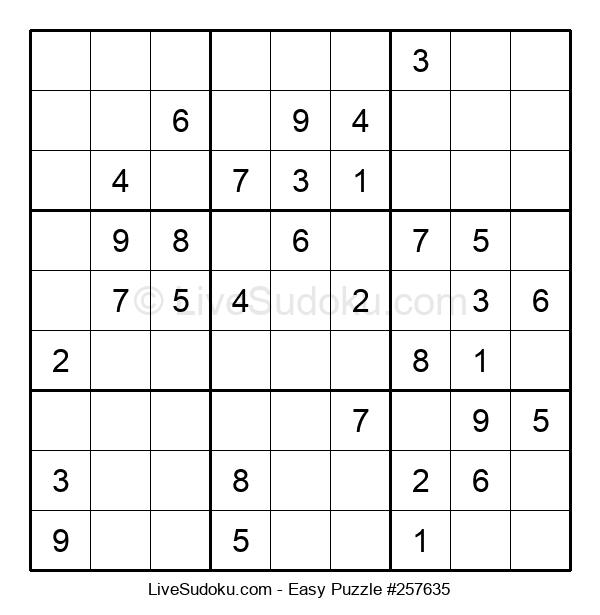 Beginners Puzzle #257635