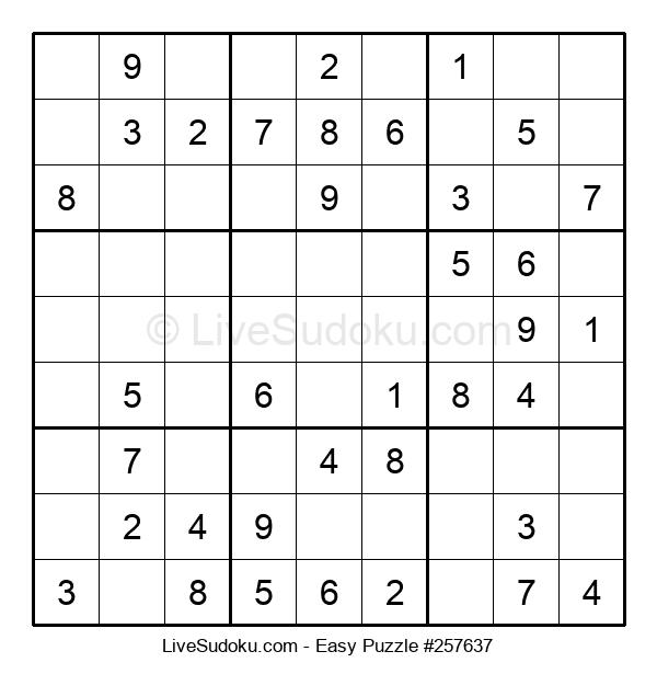 Beginners Puzzle #257637