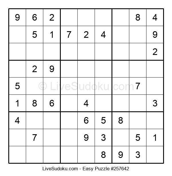 Beginners Puzzle #257642