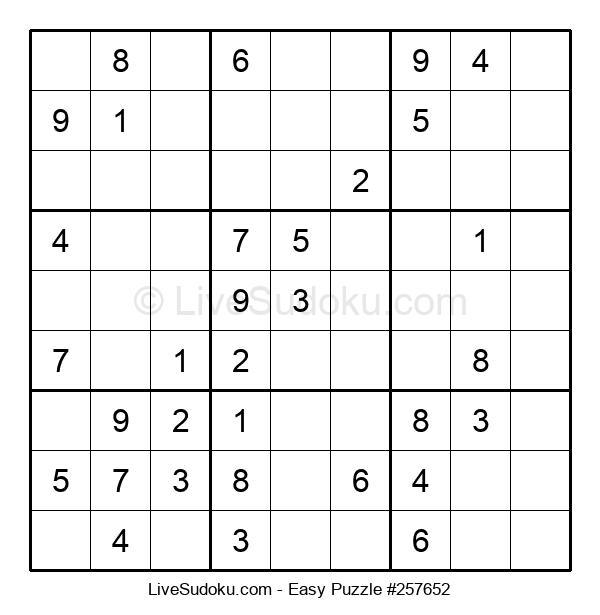 Beginners Puzzle #257652