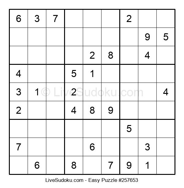 Beginners Puzzle #257653