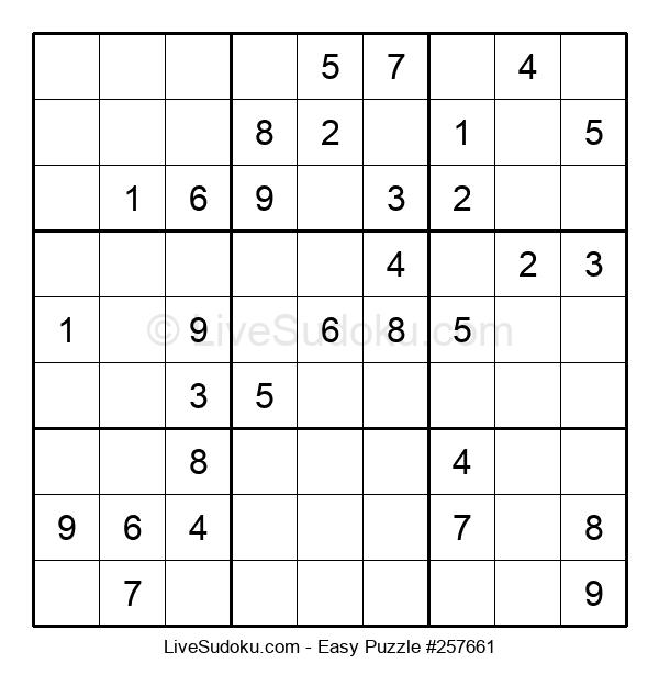 Beginners Puzzle #257661