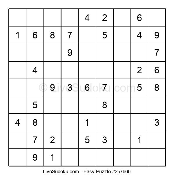 Beginners Puzzle #257666