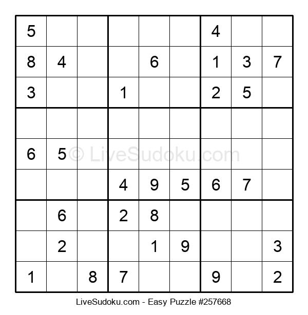 Beginners Puzzle #257668