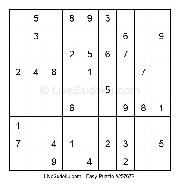 Beginners Puzzle #257672