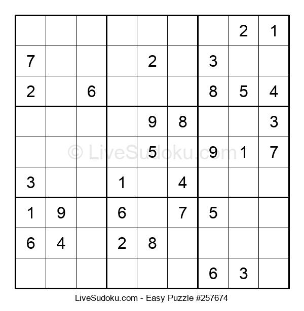 Beginners Puzzle #257674
