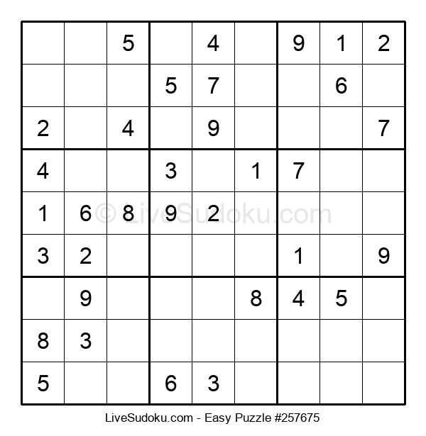 Beginners Puzzle #257675