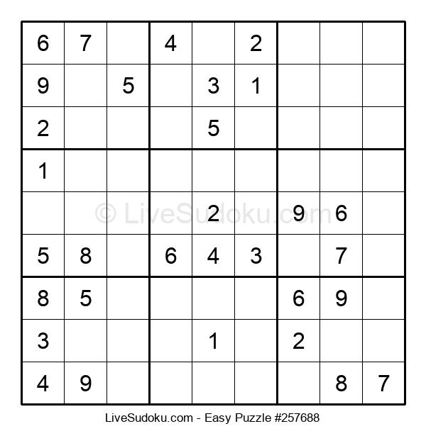 Beginners Puzzle #257688