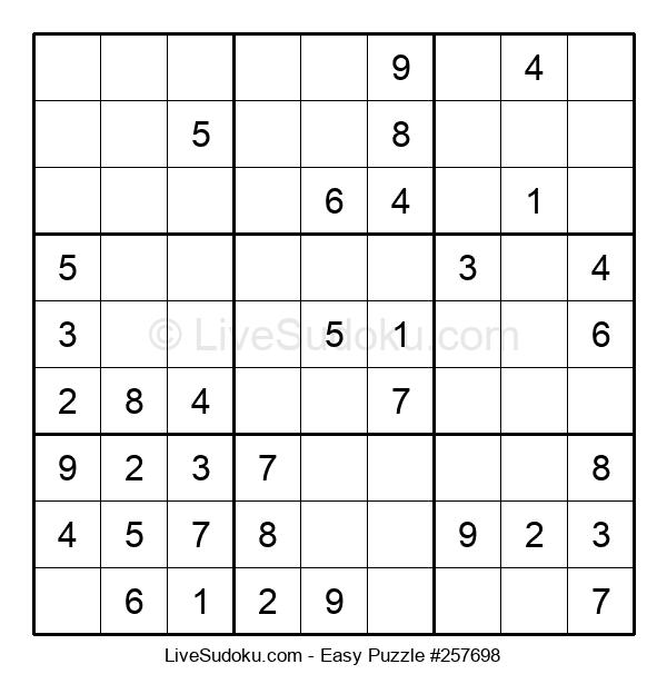 Beginners Puzzle #257698