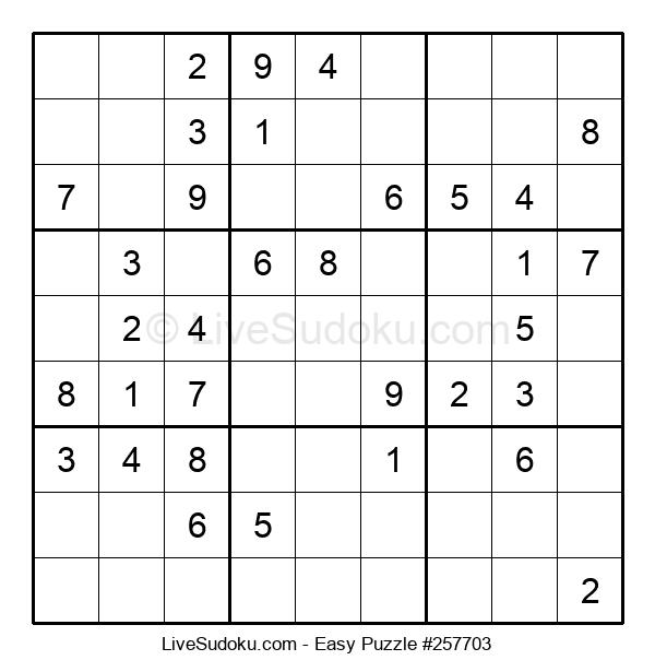 Beginners Puzzle #257703