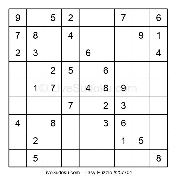 Beginners Puzzle #257704