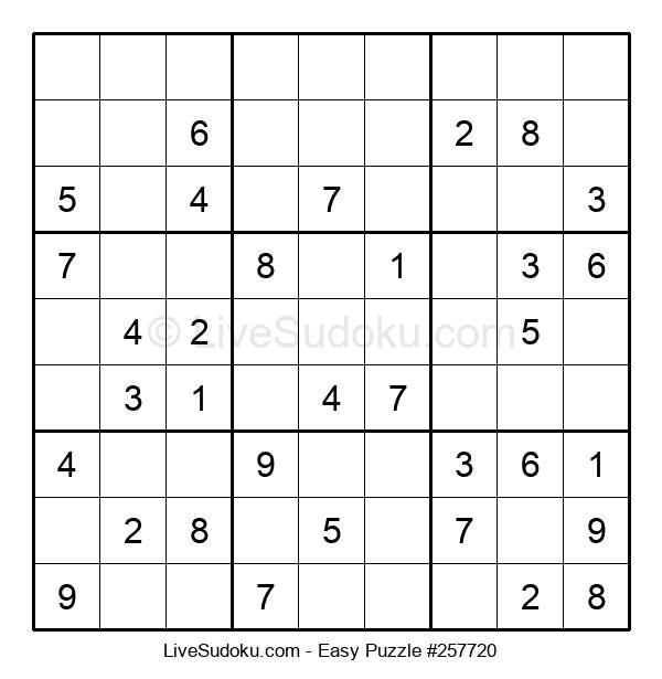 Beginners Puzzle #257720