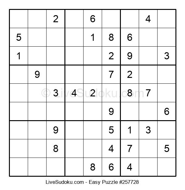 Beginners Puzzle #257728