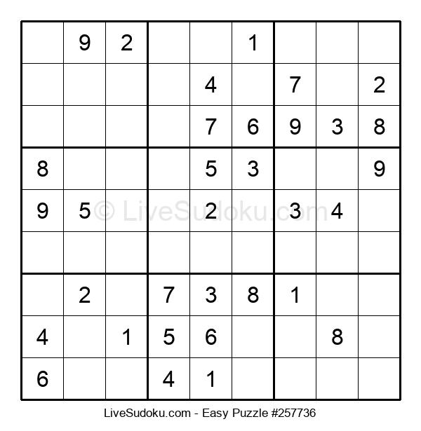 Beginners Puzzle #257736