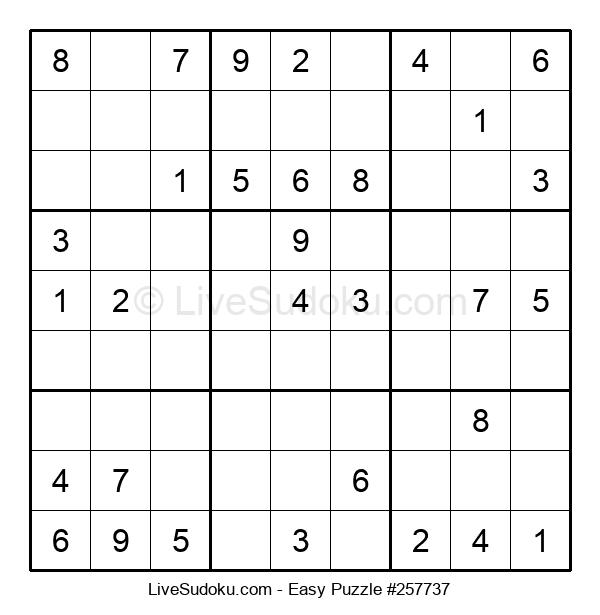 Beginners Puzzle #257737