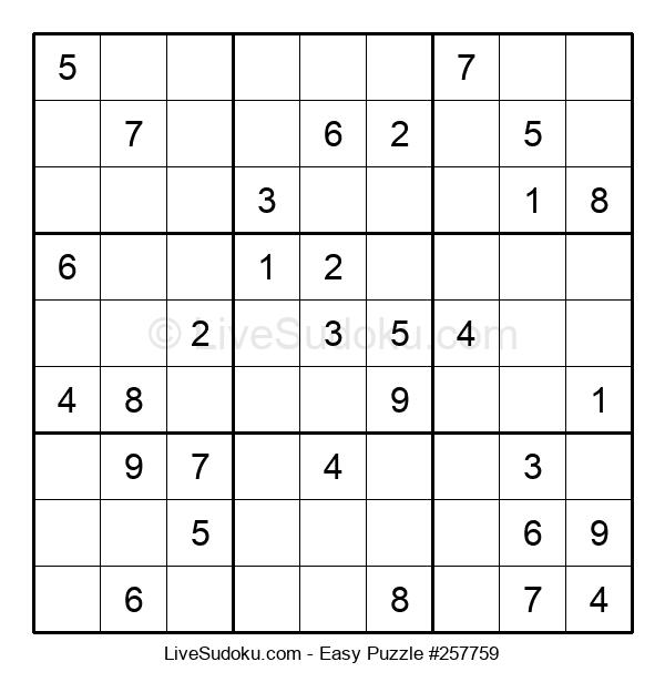 Beginners Puzzle #257759