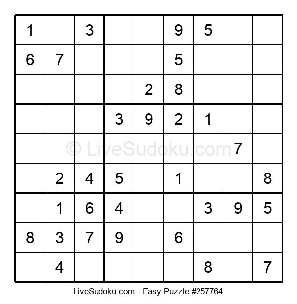 Beginners Puzzle #257764