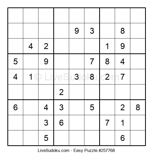 Beginners Puzzle #257768