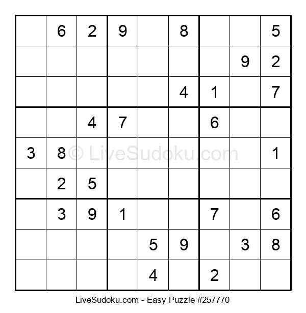 Beginners Puzzle #257770