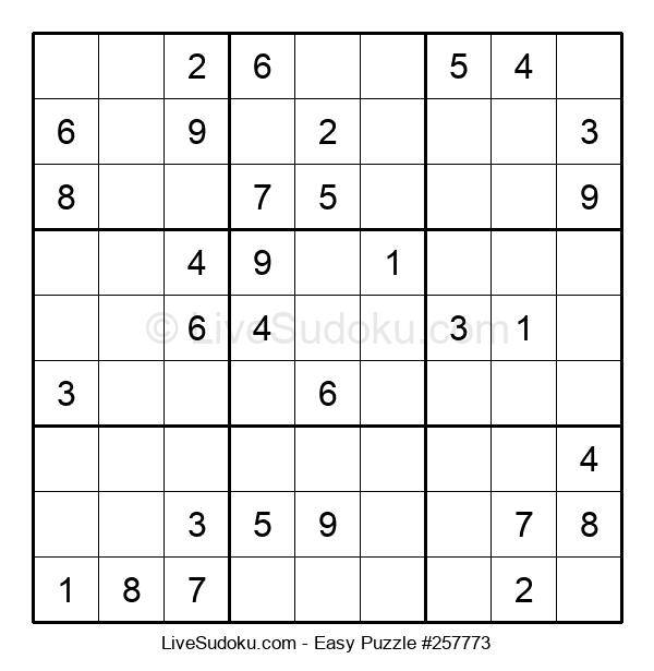 Beginners Puzzle #257773
