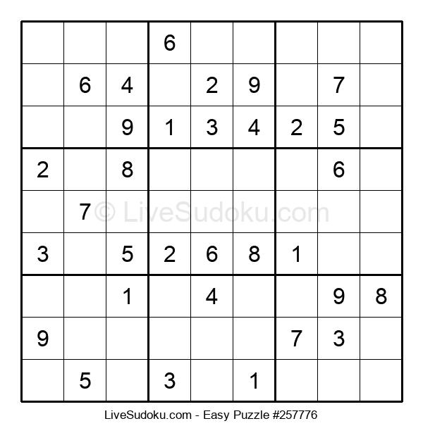 Beginners Puzzle #257776