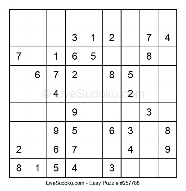 Beginners Puzzle #257788
