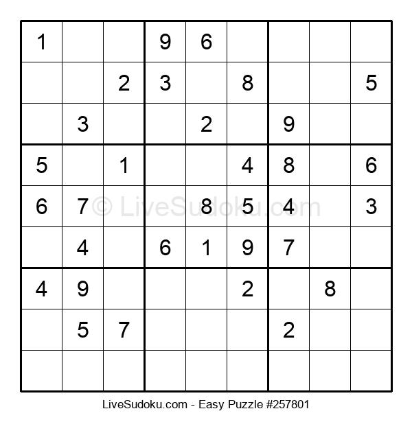 Beginners Puzzle #257801