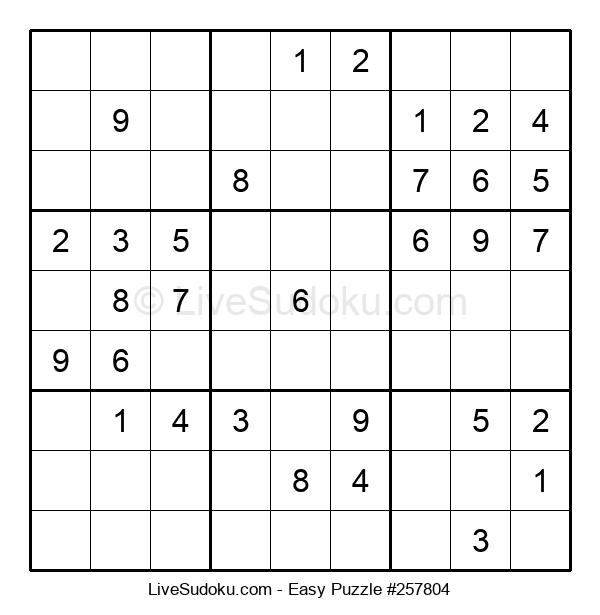 Beginners Puzzle #257804