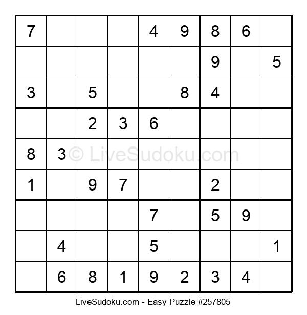 Beginners Puzzle #257805