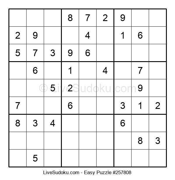 Beginners Puzzle #257808