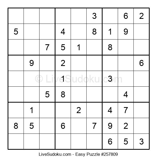 Beginners Puzzle #257809