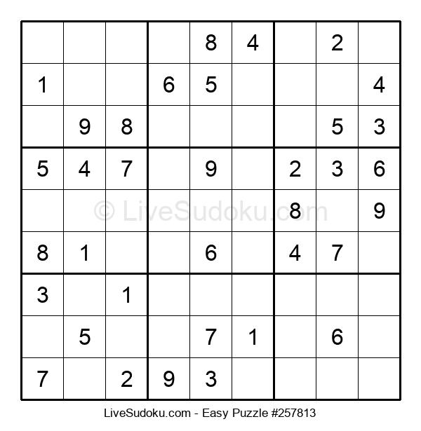 Beginners Puzzle #257813
