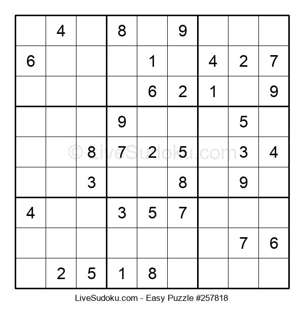 Beginners Puzzle #257818